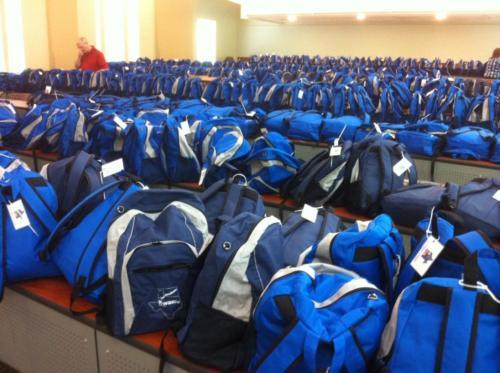 500 backpacks